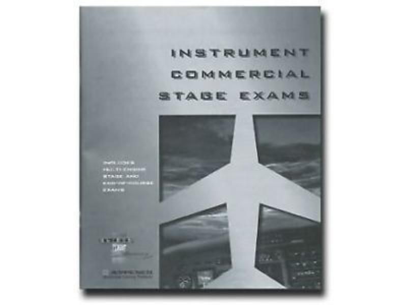 Jeppesen Sanderson Instrument/ Commercial Stage Exam Booklet