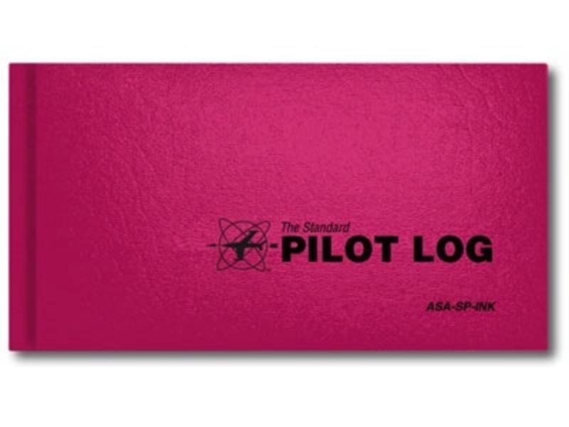 ASA ASA Standard Pilot Logbook Pink