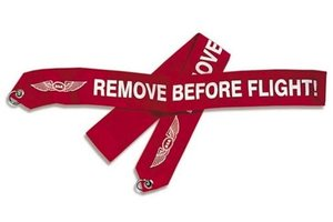 ASA Remove Before Flight Banner