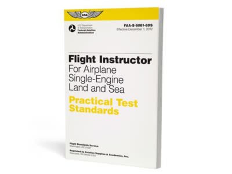 ASA PTS: Flight Instructor Airplane