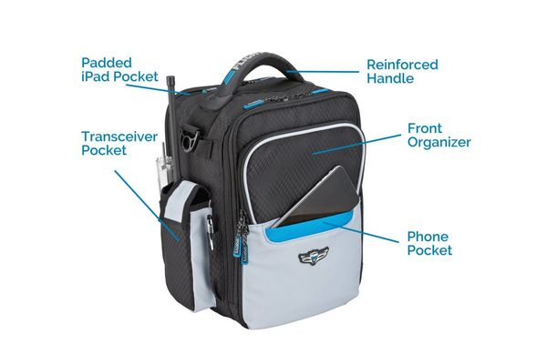 Sporty's Pilot Shop Flight Gear HP iPad Bag