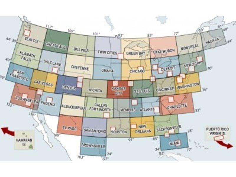 FAA / NACO Distribution Division Sectional: Washington