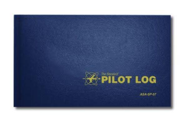 ASA Pilot Logbook Blue