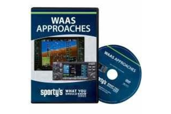 Sporty's Pilot Shop DVD: WAAS Approaches