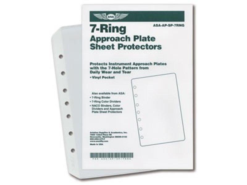 ASA 7-Ring Sheet Protectors