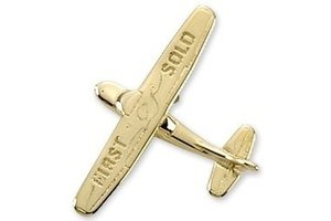 Pin: Cessna 1st Solo