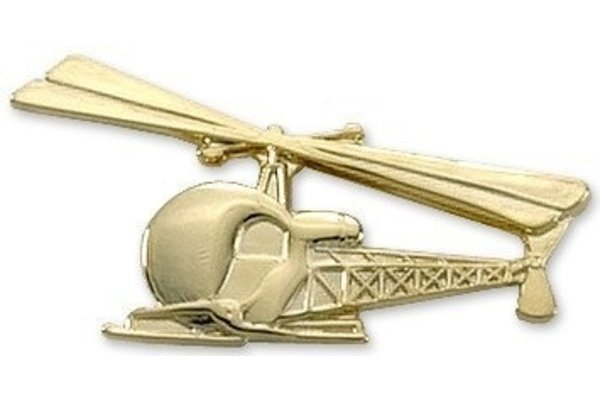 Pin: Bell 47 Gold