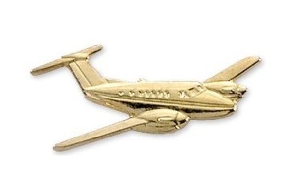 Pin: King Air 200 Gold