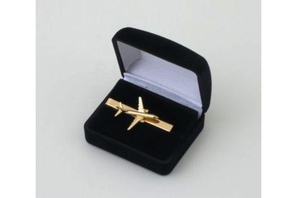 Tie Bar Boeing 737 3D Gold