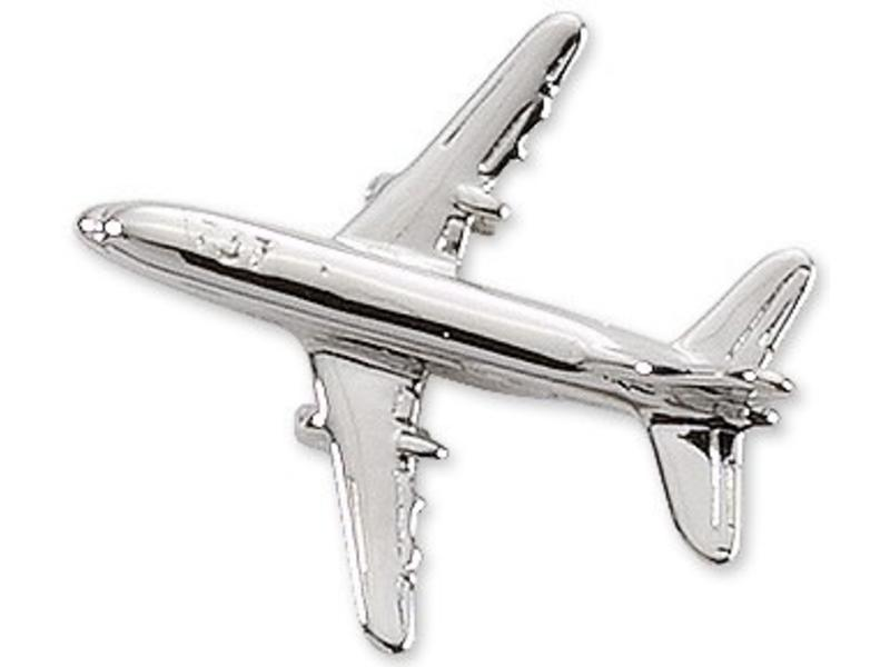 Pin: Boeing 737 Silver