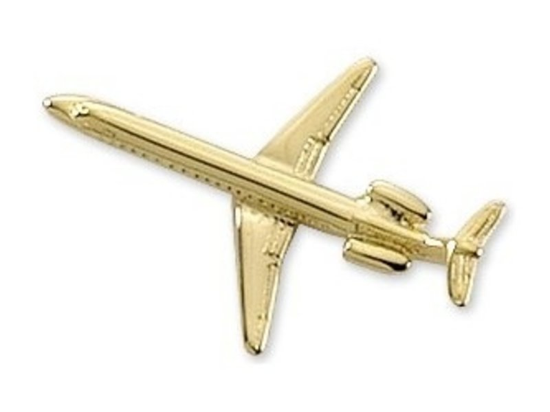 Pin: Embraer 145 Gold