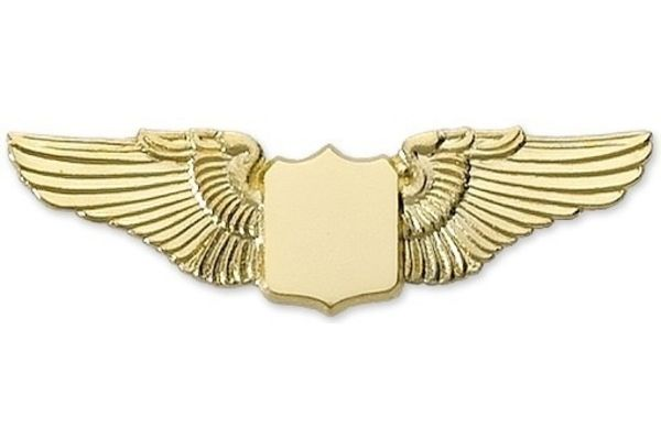 """1.5"""" Wing Gold"""