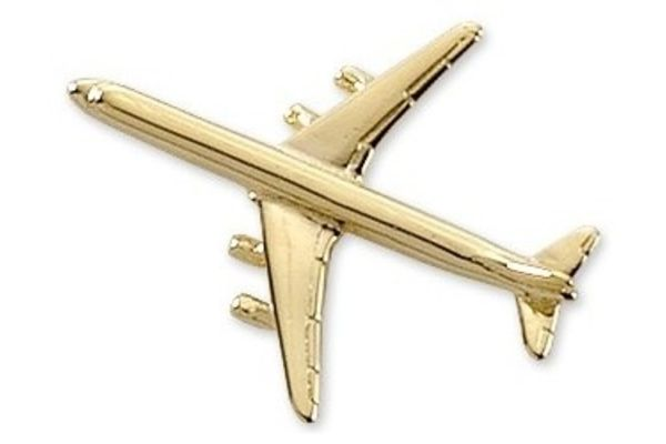Pin: DC-8 Gold