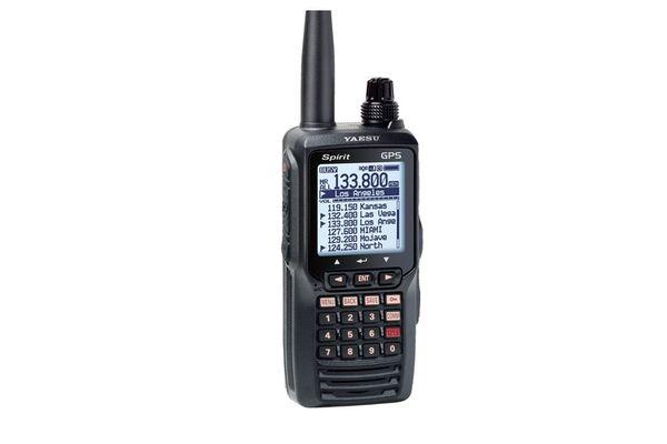 Yaesu / Vertex FTA-750L Airband Transceiver ILS (Localizer and Glideslope), VOR Navigation and GPS receiver