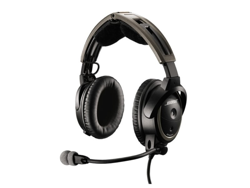 Bose Bose® A20 Aviation Headset, Enhanced GA No Bluetooth
