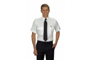 Phillips Van-Heusen Corp Shirt: Aviator SS 100% Cotton Non-Iron