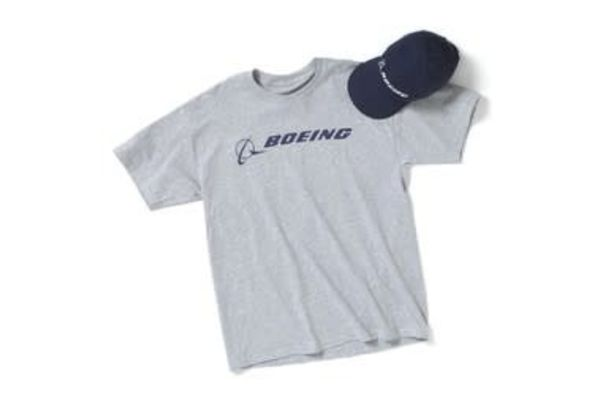 The Boeing Store Boeing Hat & T-Shirt Set