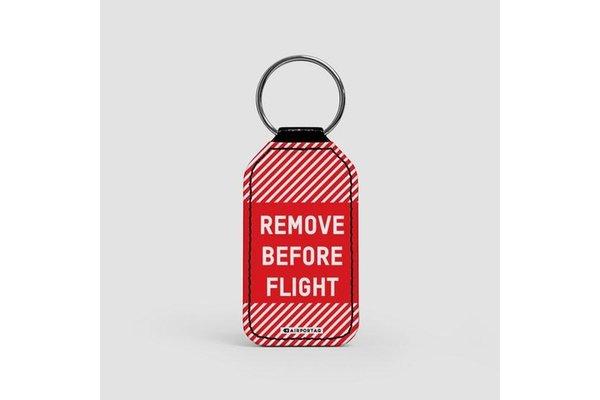 Keychain: Remove Before Flight