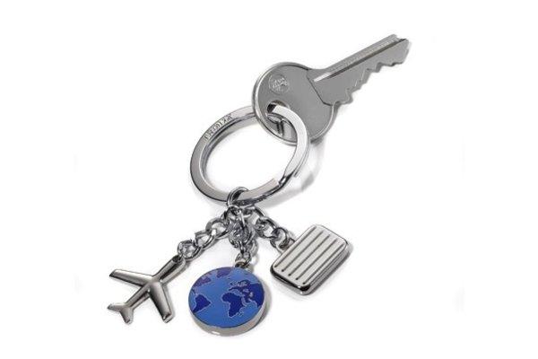 Keychain: Travel Charms Weltenbummler Keyring