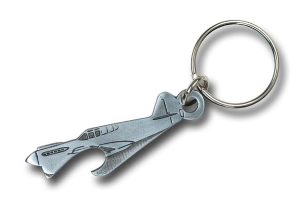 Keychain: Bottle Opener P-40