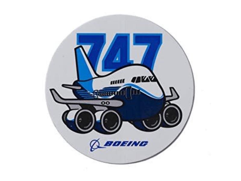 Sticker 747 Pudgy