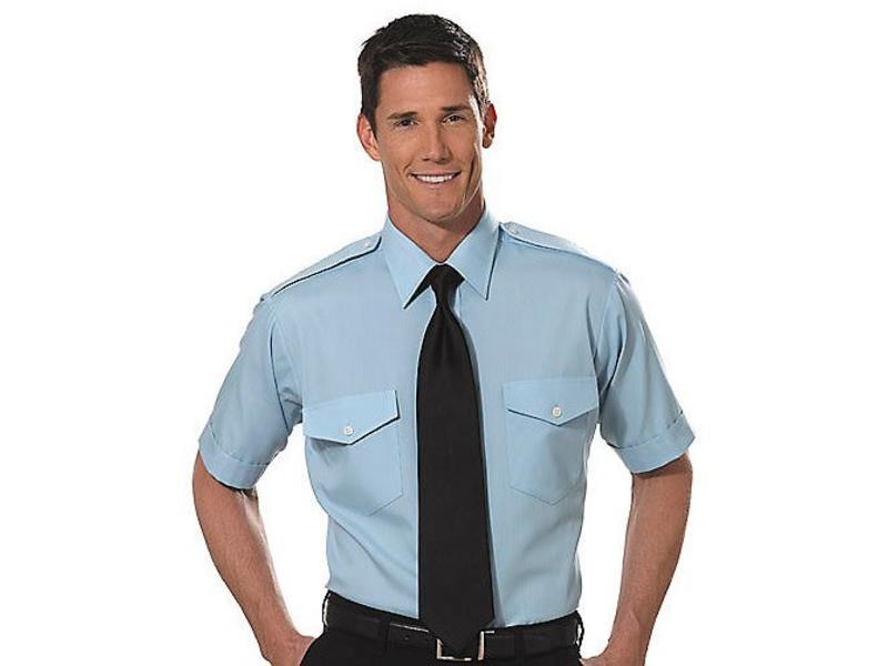 Shirt: Aviator SS Blu 14.5