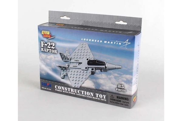Daron World Trading Inc. F-22 RAPTOR 85 PIECE CONSTRUCT