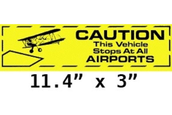 Sticker: Caution This Vehicle