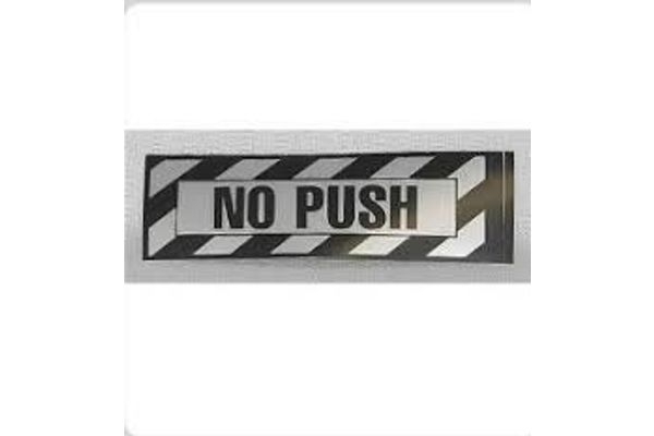 Sticker: No Push