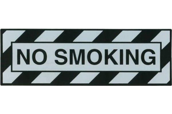 STICKER: NO SMOKING