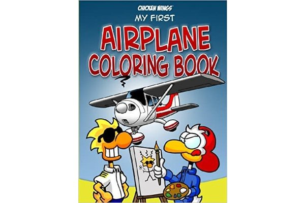 Chicken Wings, My First Coloring Book - Wayman Pilot Supplies