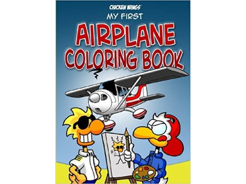 Chicken Wings, My First Coloring Book