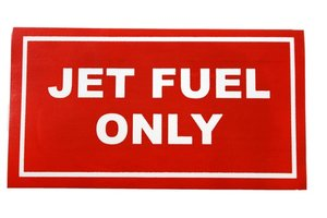 STICKER: JET FUEL ONLY