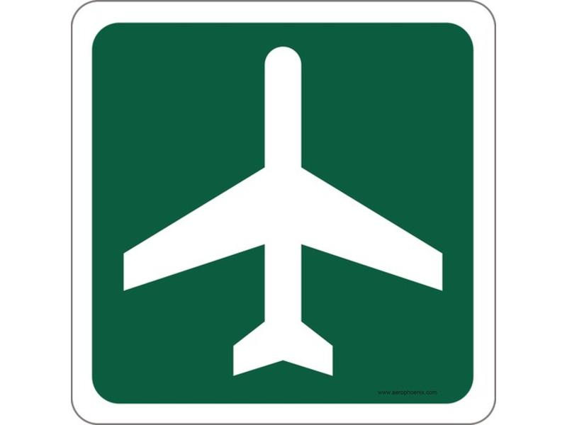 Mouse Pad Airport Ahead