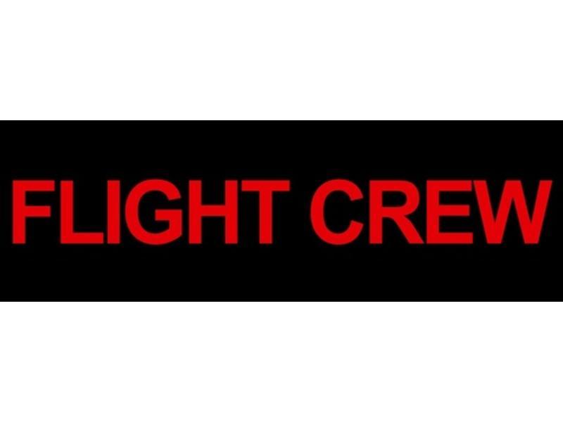 Sticker: Flight Crew