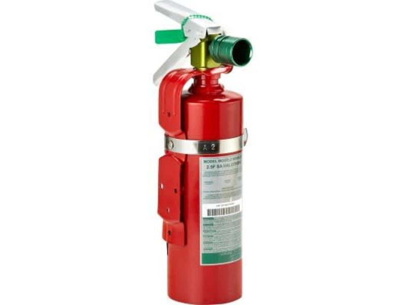 Small Halotron Fire Extinguisher