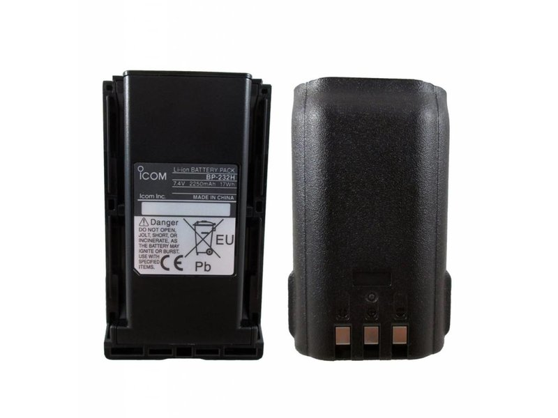 Icom Li-ion Battery Pack 232H