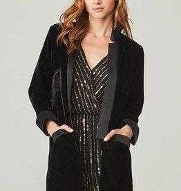 BB Dakota Curran Velvet Blazer