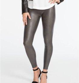 Spanx Spanx Faux Leather Leggings Gunmetal XLarge