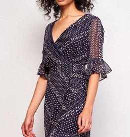 BB Dakota Clarissa Printed Chiffon Dress