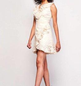 BB Dakota Harlow Embroidered Mesh Dress