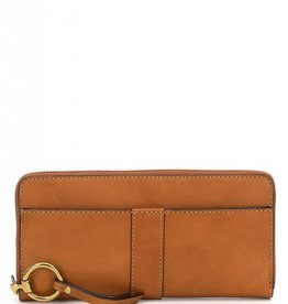 Frye/Jimlar Corporation Ilana Harness Zip Wallet Cognac