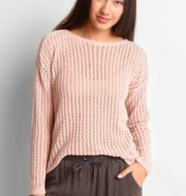 BB Dakota Luna Chenille Cold Shoulder Sweater