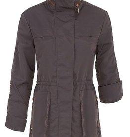 Roll up Sleeve Coat w/ Hood