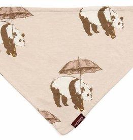 Milkbarn Pink Panda Kerchief Bib