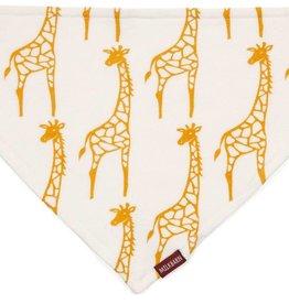 Milkbarn Yellow Giraffe Kerchief Bib
