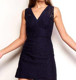 BB Dakota Janelle Navy Lace Dress
