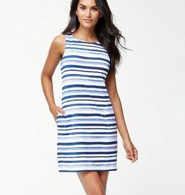 Tommy Bahama Watercolor Stripe Swim Dress