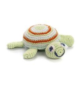 Pebble Green Sea Turtle Rattle