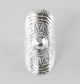 Roost Tulum Ring Silver OS